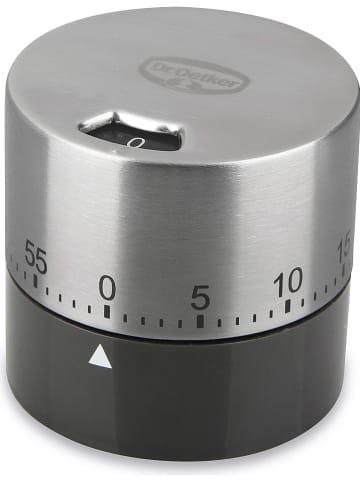 "Dr. Oetker Edelstahl-Kurzzeitmesser ""Back-Spaß"" - (H)6 x Ø 6,5 cm"