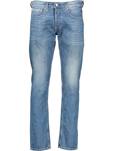 """Replay Jeans """"Grover"""" - Regular fit - in Hellblau"""