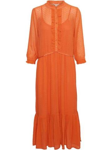 """PART TWO Sukienka """"Peaches"""" w kolorze pomarańczowym"""