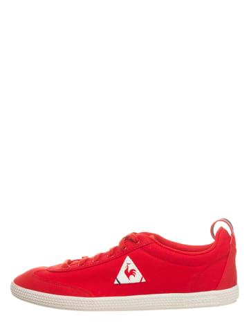 """Le Coq Sportif Sneakersy """"Provencale II"""" w kolorze czerwonym"""