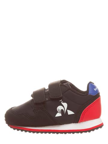 "Le Coq Sportif Sneakersy ""Jazy"" w kolorze czarnym"