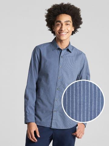 GAP Blouse - slim fit - blauw