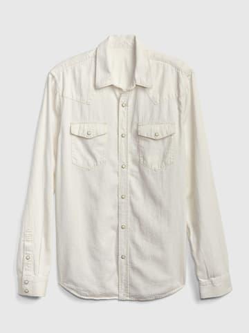 GAP Koszula - Regular fit - w kolorze kremowym