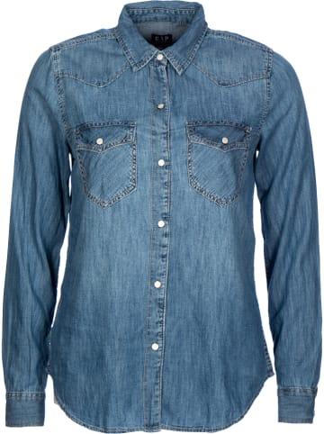 GAP Bluzka dżinsowa w kolorze niebieskim