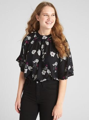 GAP Bluzka w kolorze czarno-białym
