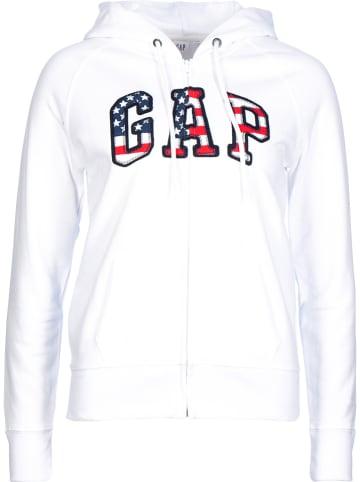 GAP Bluza w kolorze białym