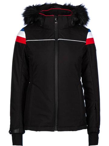 Peak Mountain Kurtka narciarska w kolorze czarnym