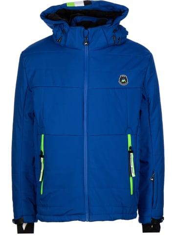 Peak Mountain Ski-/snowboardjas blauw