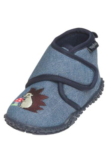 Playshoes Kapcie w kolorze niebieskim