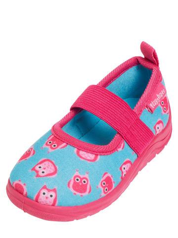 Playshoes Kapcie w kolorze turkusowym
