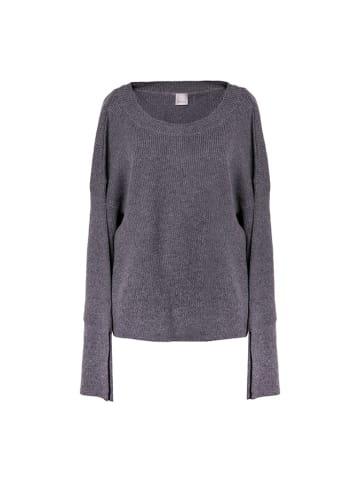 Pinko Sweter w kolorze szarym