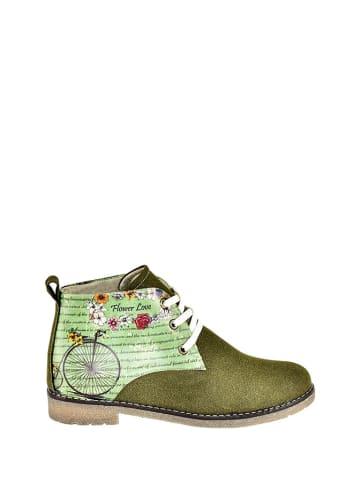 Streetfly Veterschoenen groen/meerkleurig