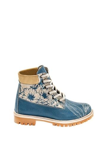 Streetfly Boots blauw/meerkleurig