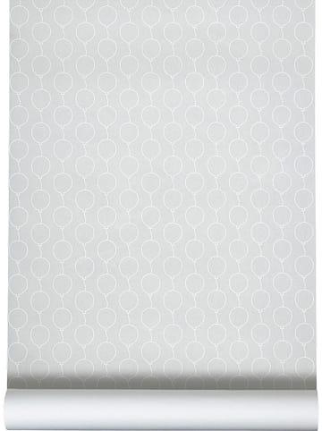 "Done by deer Tapete ""Balloon"" in Grau - (L)1.000 x (B)53 cm"