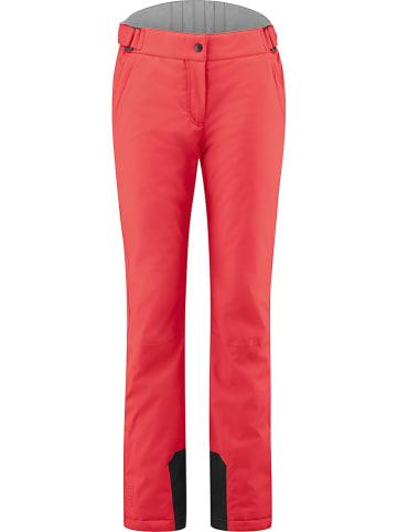 Maier Sports Spodnie narciarskie w kolorze czerwonym