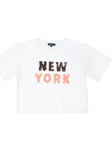 ATTENTION Shirt in Weiß
