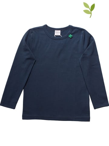 Fred´s World by GREEN COTTON Longsleeve donkerblauw