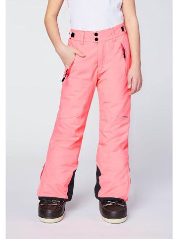 """Chiemsee Spodnie narciarskie """"Kizzy"""" w kolorze jasnoróżowym"""