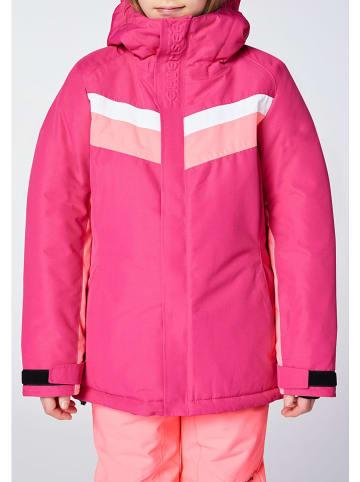 """Chiemsee Kurtka narciarska """"Hilltop"""" w kolorze różowym"""
