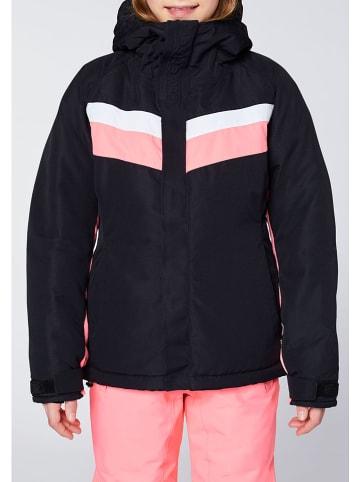 """Chiemsee Kurtka narciarska """"Hilltop"""" w kolorze czarnym"""