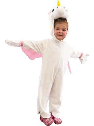 """Legler 3-delig kostuum """"Eenhoorn"""" wit/lichtroze"""
