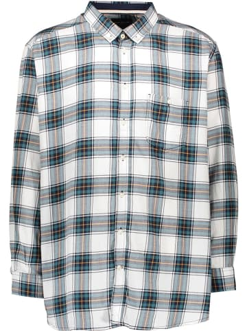 Tom Tailor Bluza w kolorze szaro-ciemnozielonym