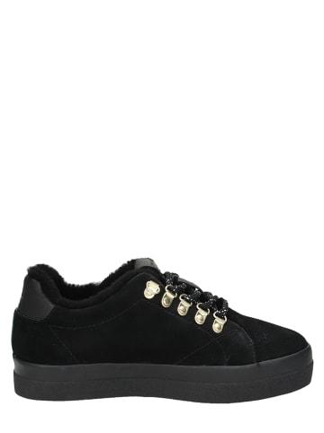 "GANT Footwear Leren sneakers ""Aurora"" zwart"