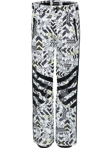 """Chiemsee Spodnie narciarskie """"Sun Peaks"""" w kolorze czarno-białym"""