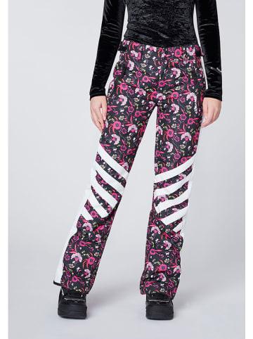 """Chiemsee Spodnie narciarskie """"Sun Peaks"""" ze wzorem"""