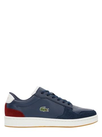 "Lacoste Leren sneakers ""Masters Cup"" donkerblauw"