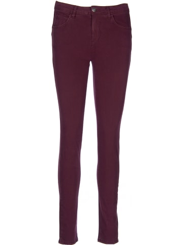 Benetton Broek - super skinny fit - donkerrood
