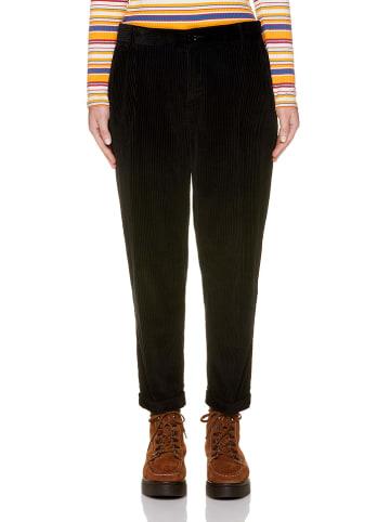 Benetton Spodnie sztruksowe w kolorze czarnym