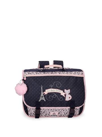 Enso Plecak w  kolorze czarno-różowym - (S)39,5 x (W)30,5 x (G)19,5 cm