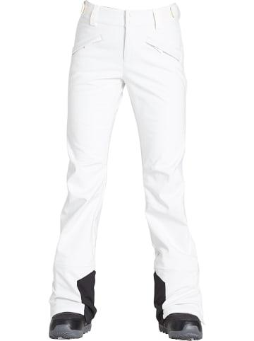 """Billabong Spodnie narciarskie """"Flake"""" w kolorze białym"""