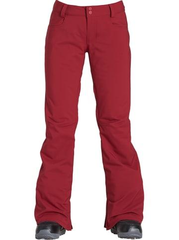 """Billabong Spodnie narciarskie """"Terry"""" w kolorze czerwonym"""