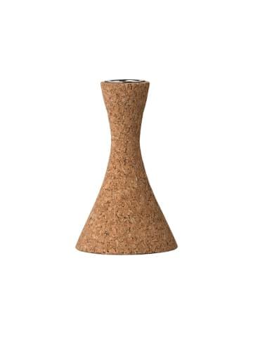 Bloomingville Świecznik w kolorze brązowym  - (W)12 x Ø 7 cm