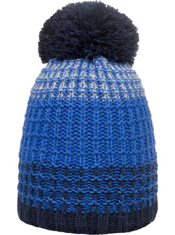 Döll Dzianinowa czapka w kolorze niebieskim