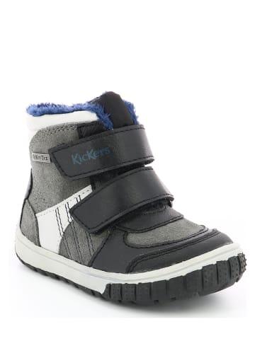 Kickers Sneakersy zimowe w kolorze czarnym