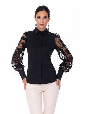 Iren Klairie Koszula w kolorze czarnym