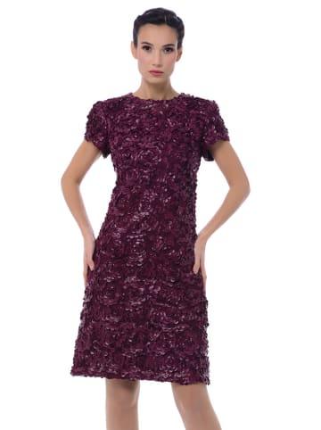 Iren Klairie Sukienka w kolorze bordowym