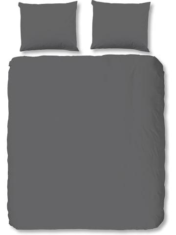 Hip Satijnen beddengoedset grijs