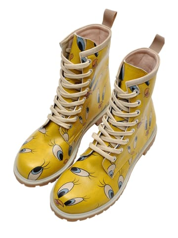 """Dogo Boots """"Tweety in Yellow"""" geel"""
