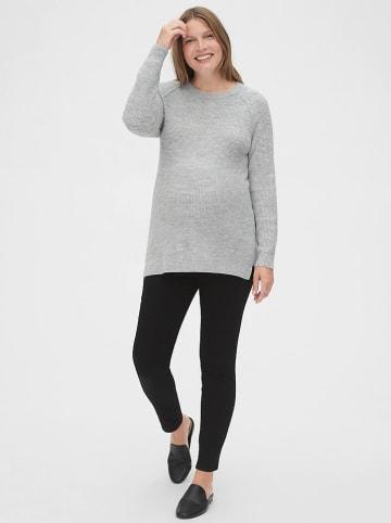 GAP Sweter ciążowy w kolorze szarym