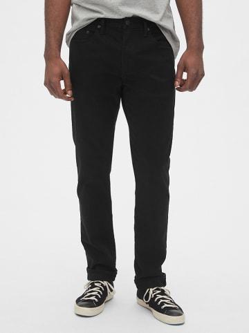 GAP Spodnie - Slim fit - w kolorze czarnym