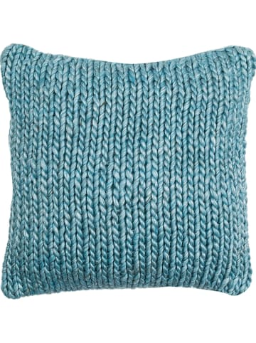 Pandora Trade Poszewka w kolorze niebieskim na poduszkę - 45 x 45 cm