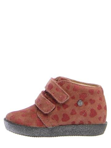 "Falcotto Leder-Sneakers ""Conte"" in Rosa"
