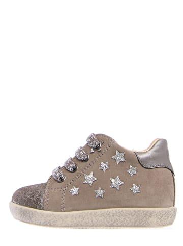 """Falcotto Leder-Sneakers """"Camilla"""" in Grau"""