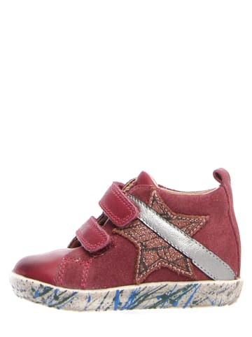 """Falcotto Leder-Sneakers """"Curtis"""" in Rot"""