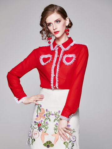 Ferraga Koszula w kolorze czerwonym