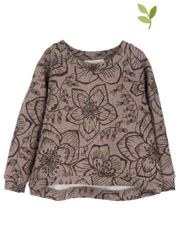 Serendipity Sweatshirt in Beige/ Braun